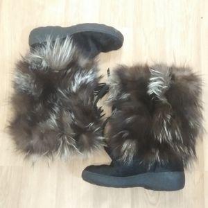 Amazing Winter Real Fur Oscar Sport Boots